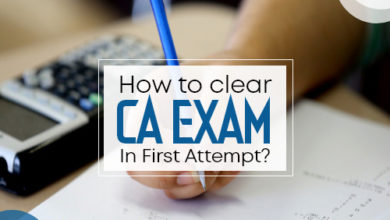 how to clear ca exam in first attempt